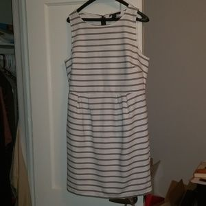 Black and white plus size dress from Forever 21